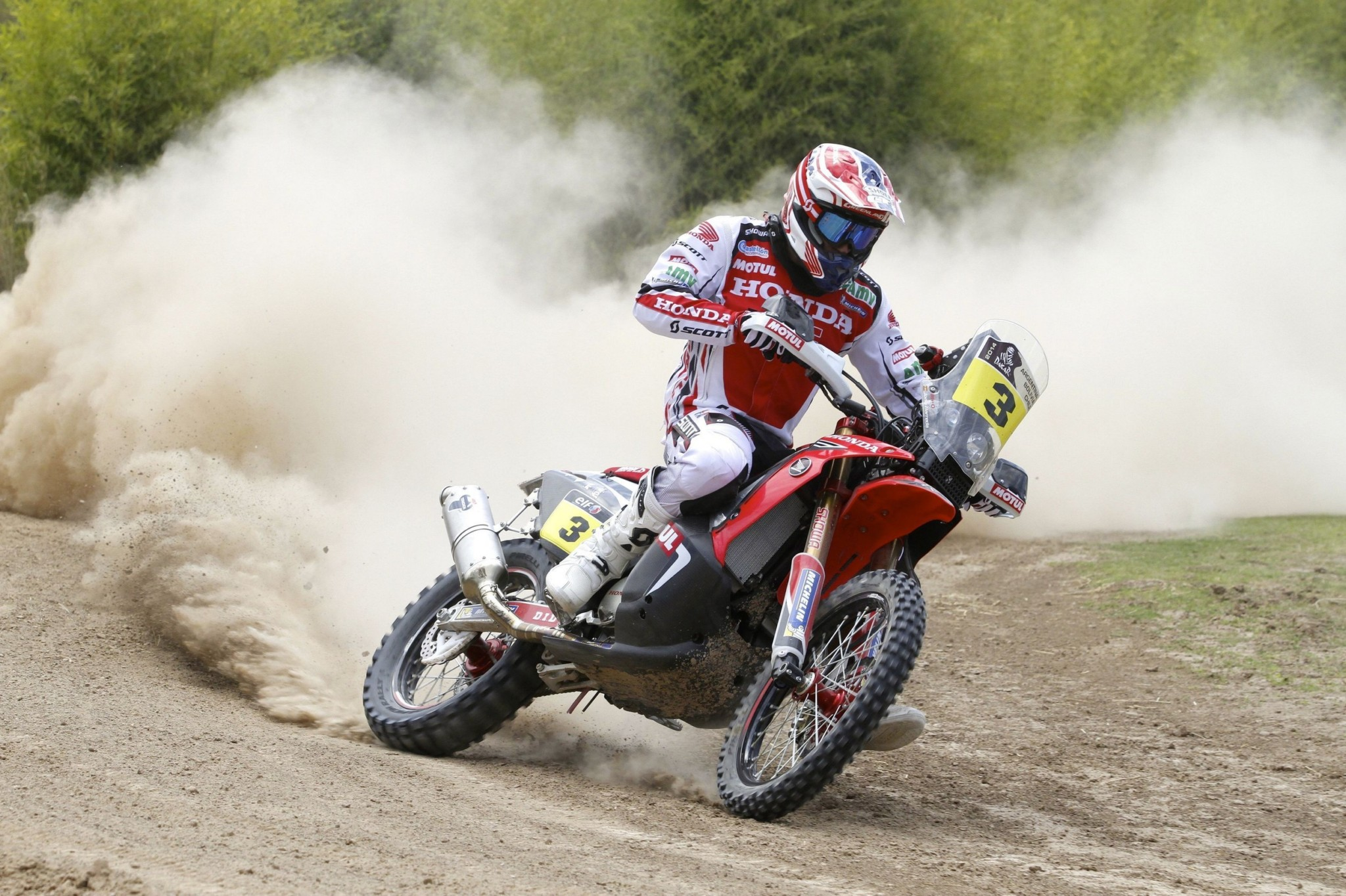 2014 dakar joan barreda bort and honda claim stage 1 photo galleryvideo 8