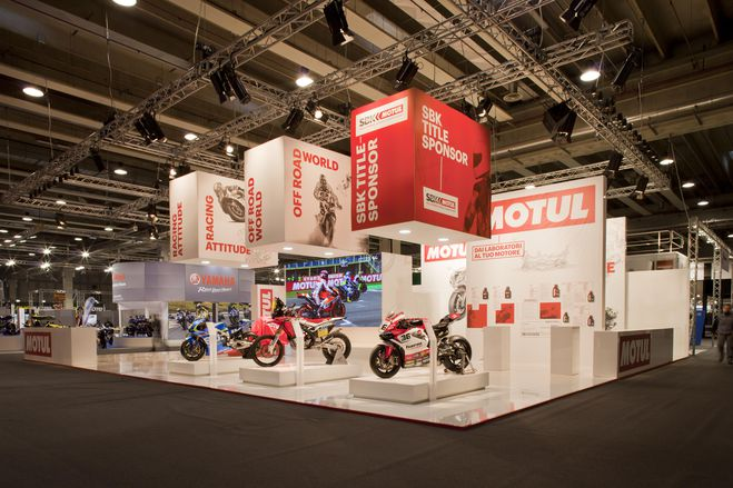 Motor Bike Expo Motul booth