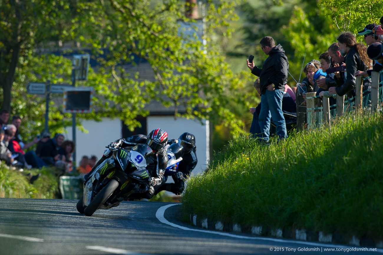 Supersport Race1 Isle of Man TT Tony Goldsmith 956