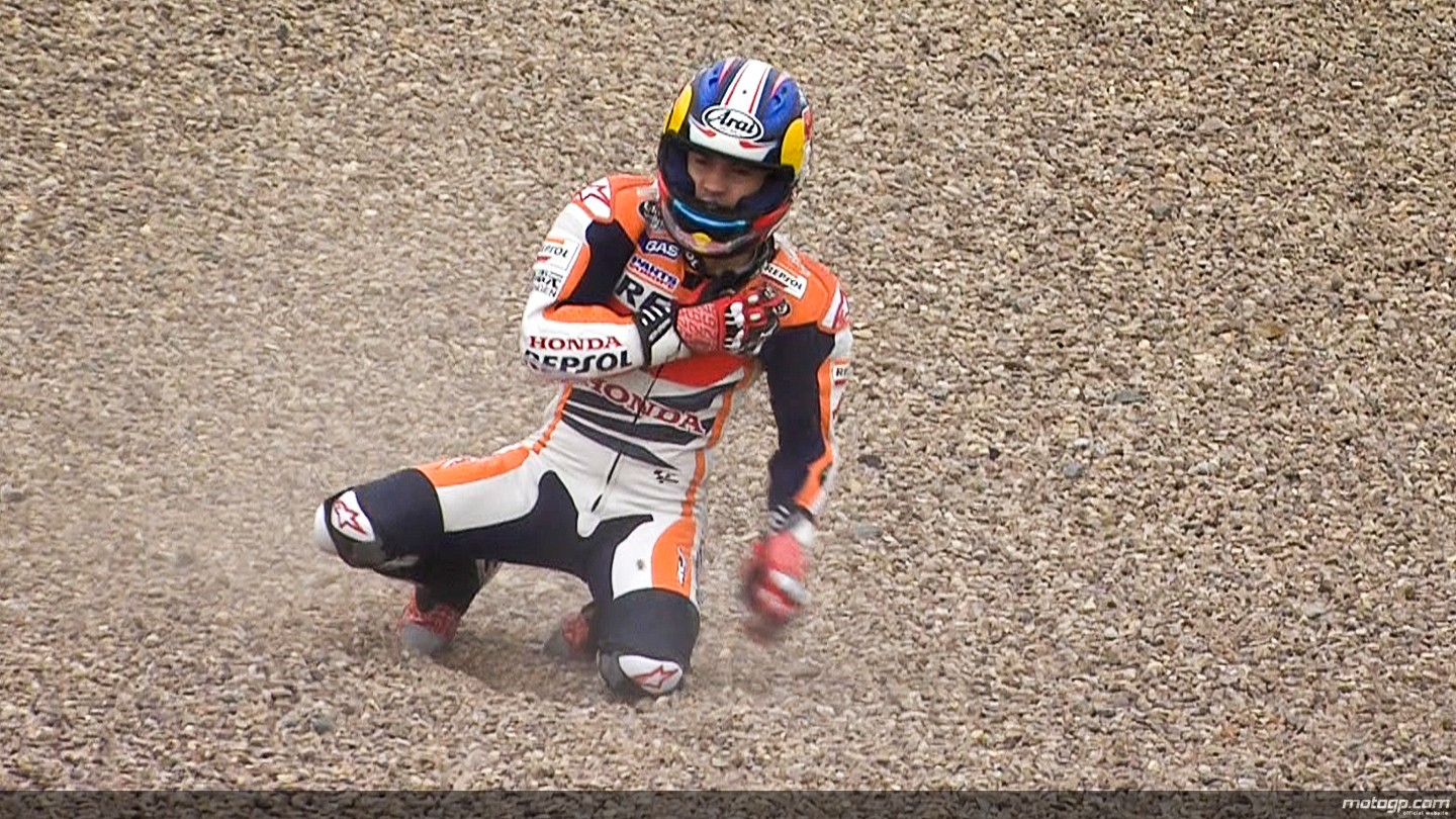 pedrosa crash fp3  original