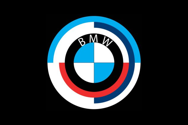 bmw retro logo