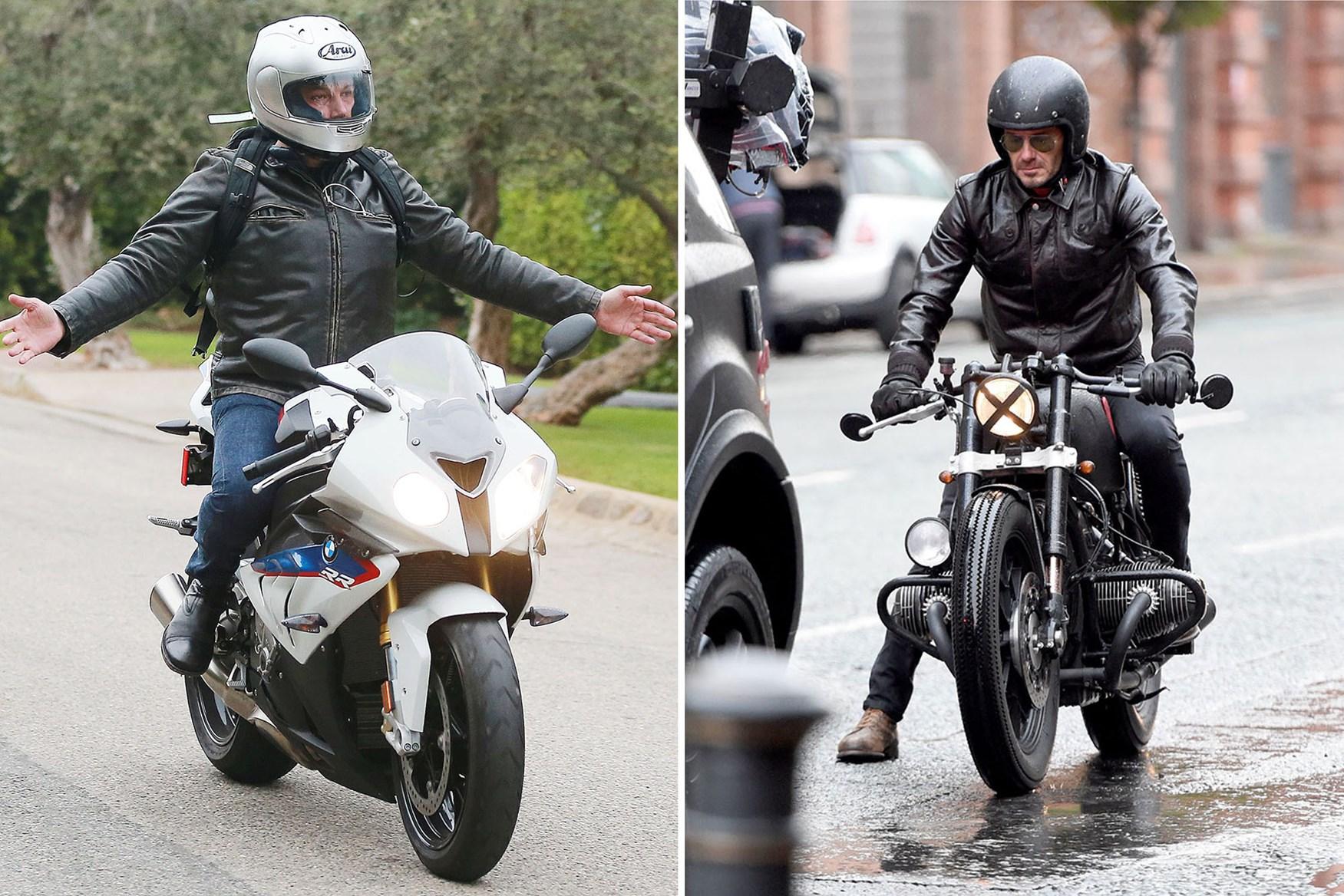 Познатите и нивните мотоцикли