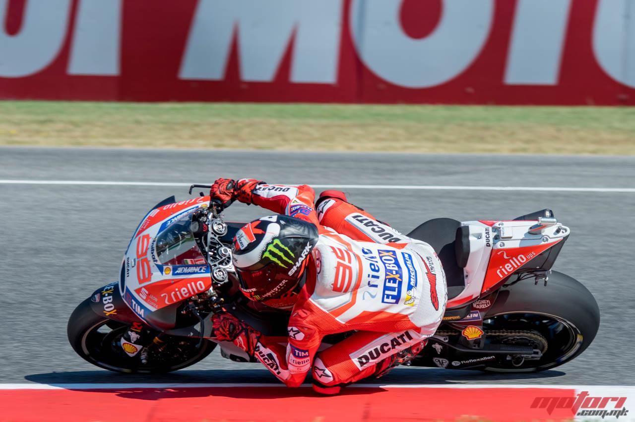 MotoGP Мисано  Лоренцо сака да продолжи со напредокот