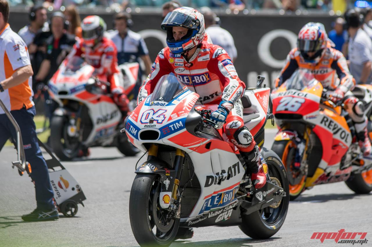MotoGP  Тардози верува дека Довициозо го слуша Стонер