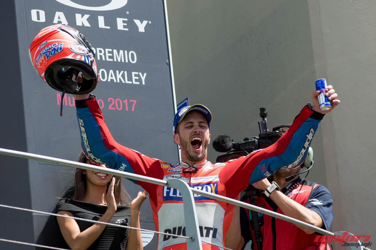 Довициозо  Неверојатно е чувството да се биде лидер во MotoGP