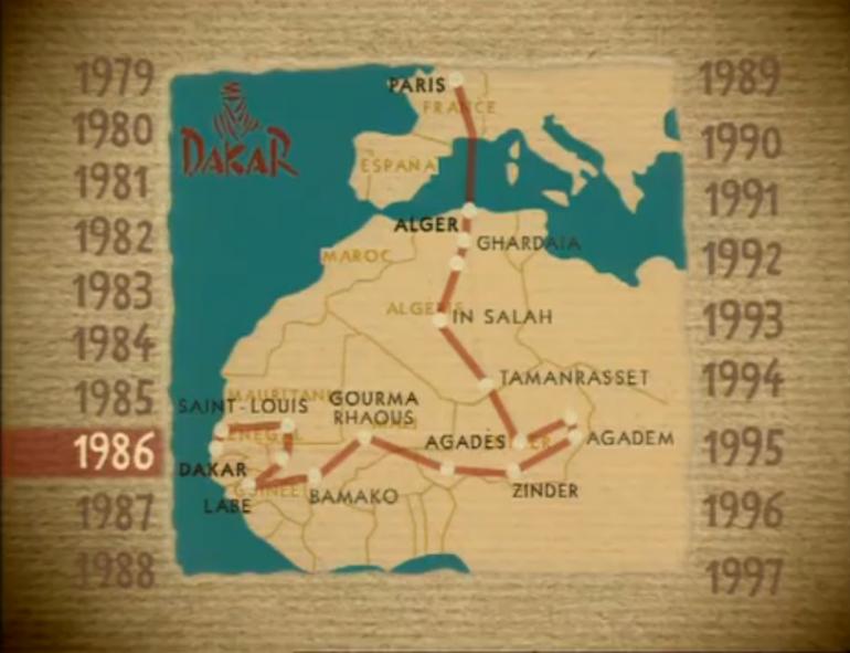 Документарен филм кој ни ја прикажува историјата на релито Париз   Дакар