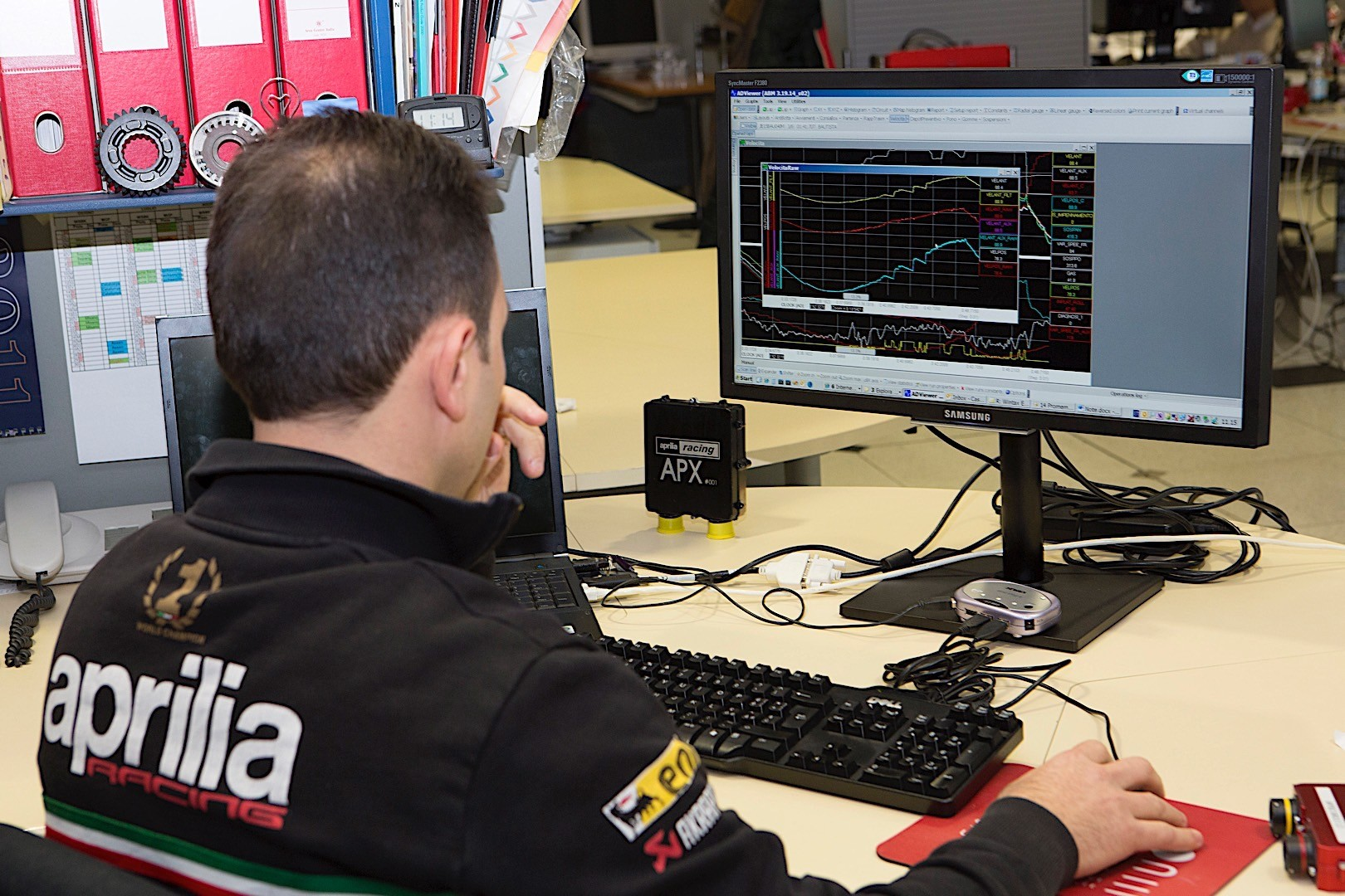 aprilia racing pairs with manpowergroup for top training master 1