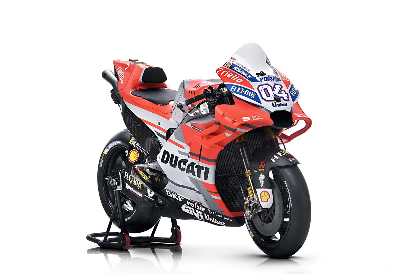 Дукати го претстави моторот за 2018