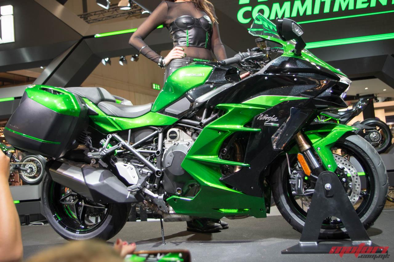 Kawasaki го претстави Ninja H2 SX