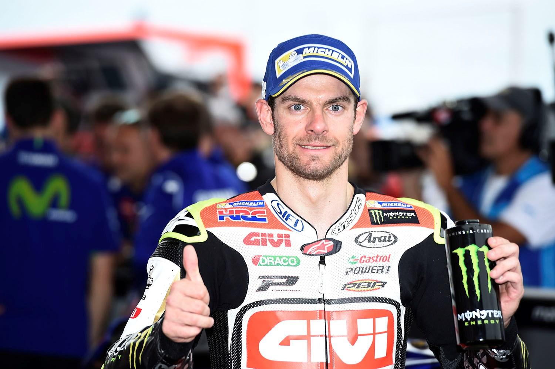 MotoGP  Кратчлоу е пресреќен што се врати на подиумот