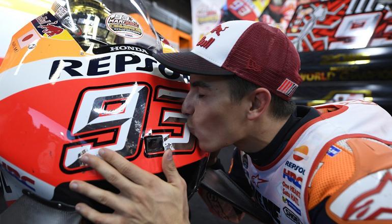 MotoGP  Во драматично финале  Маркез крунисан за Светски шампион