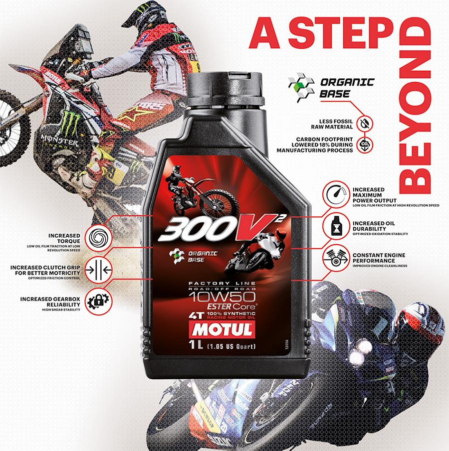Motul оди чекор напред  на EICMA презентираше ново тркачко масло  MOTUL 300V² 10W50