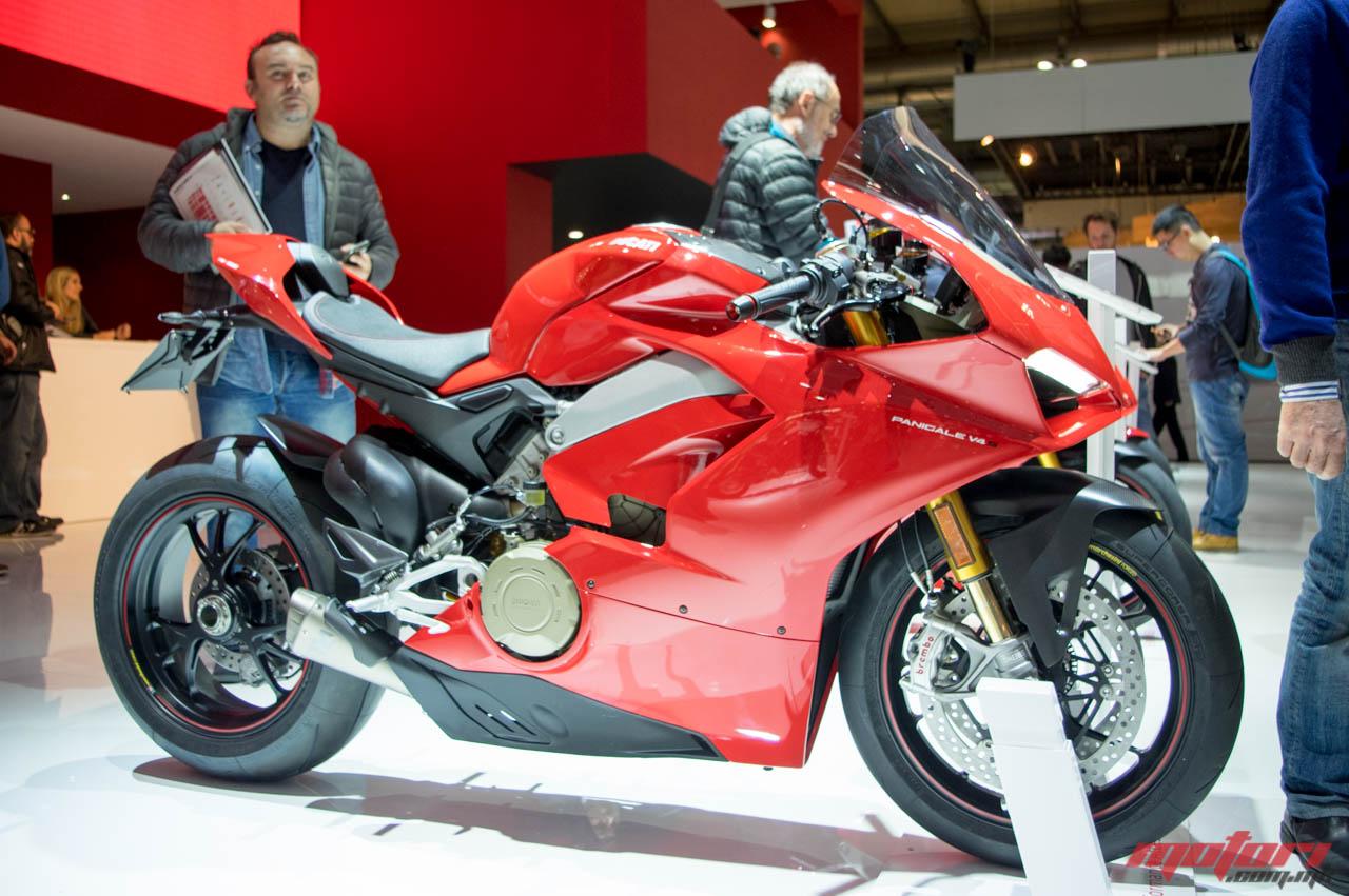 Ducati Panigale V4 прогласен за крал на EICMA 2017