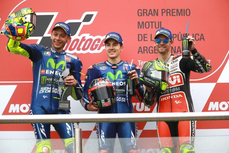 MotoGP  Победа за Вињалес  катастрофа за Маркез