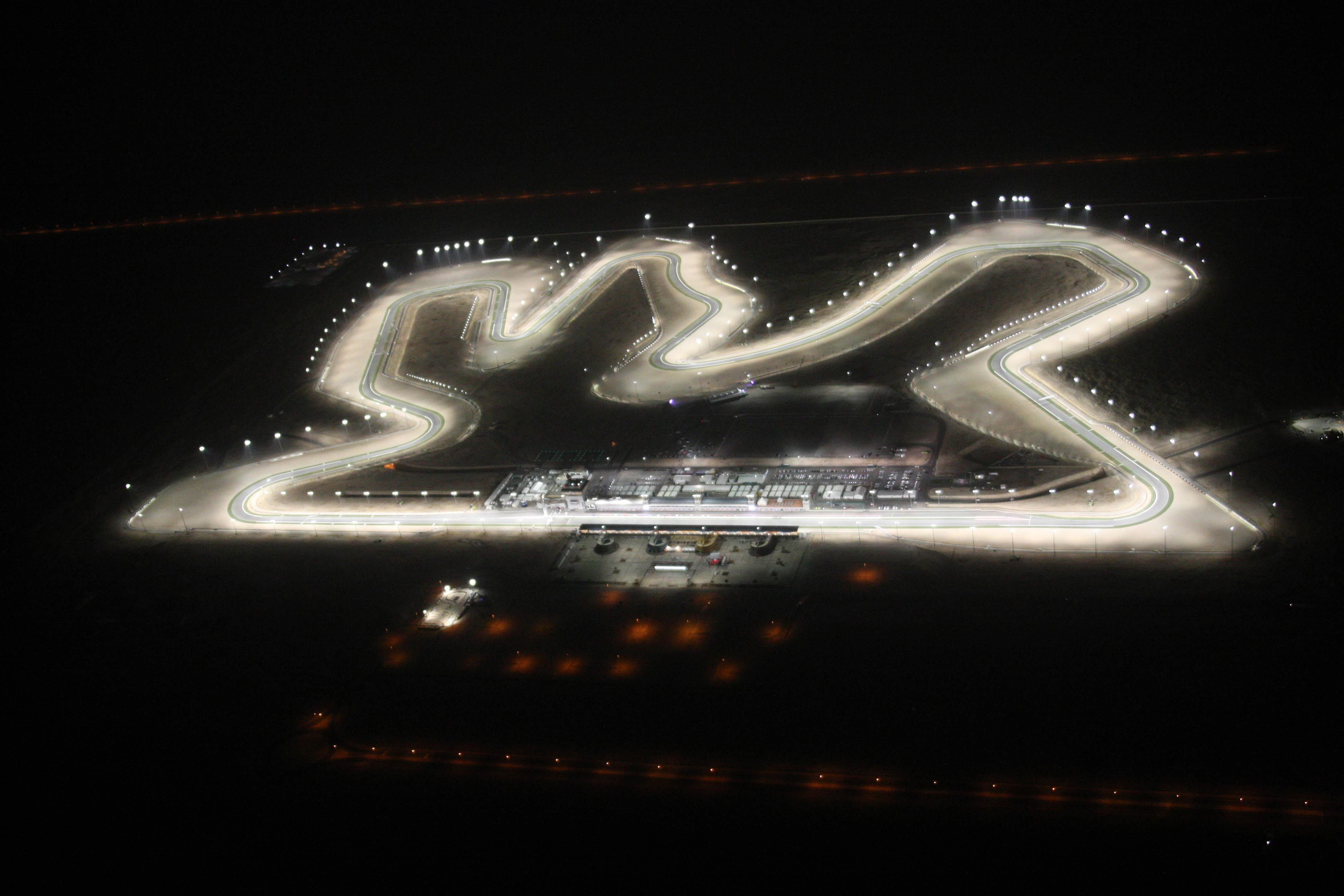 qatar gp motogp track circuit night