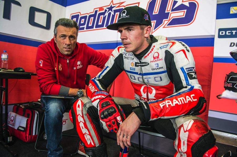MotoGP  Aprilia спас за Скот Рединг