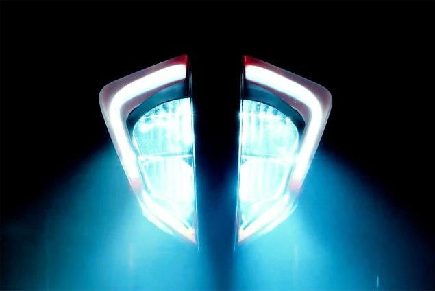 ktm 800 duke headlight teaser