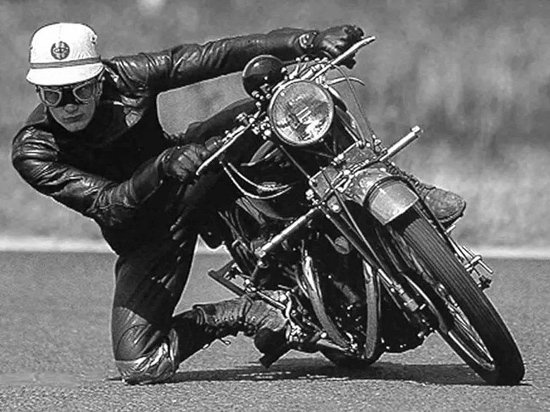 John Surtees Getting His Knee Down David Goldman