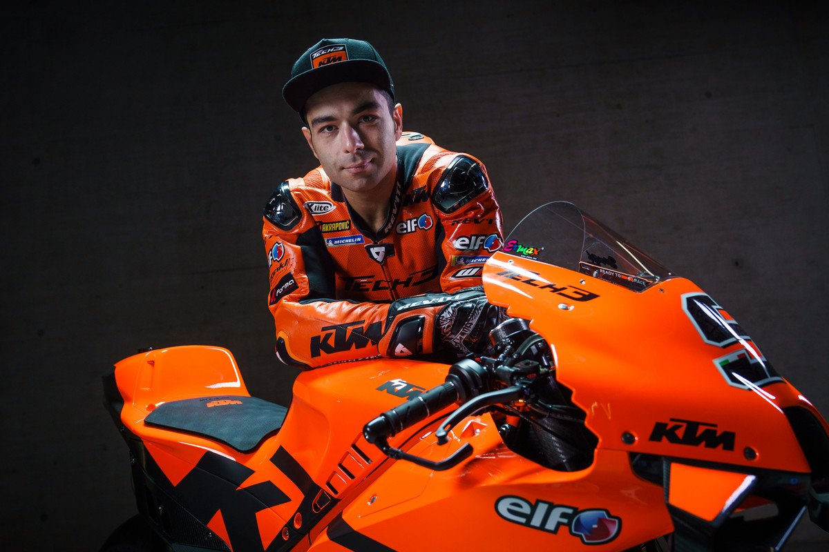 danilo petrucci 9 tech3 ktm factory racing motogp team presentation